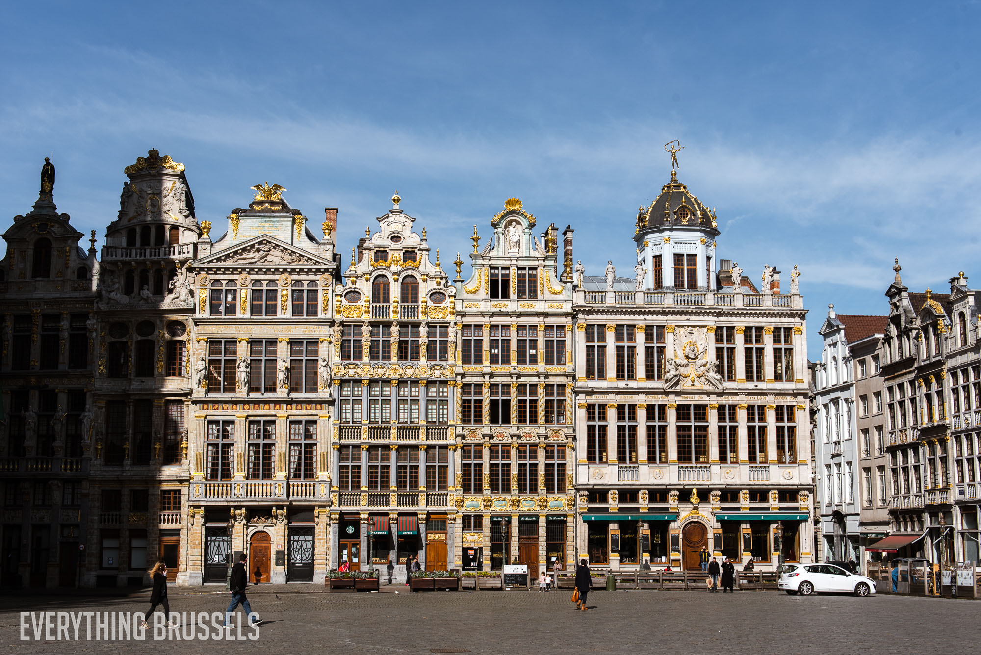 Grand Place during the lockdown, Brussels