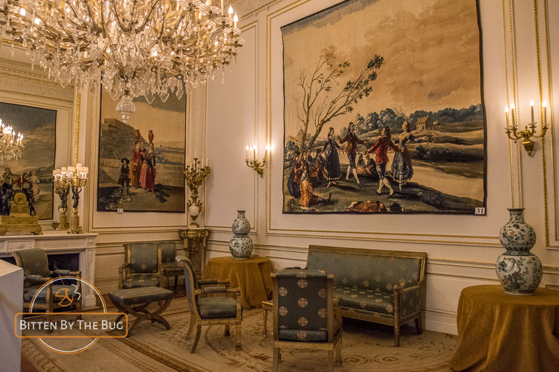 Royal Palace, Brussels - Goya Room