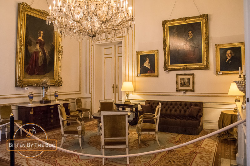 Royal Palace, Brussels - Coburg Room