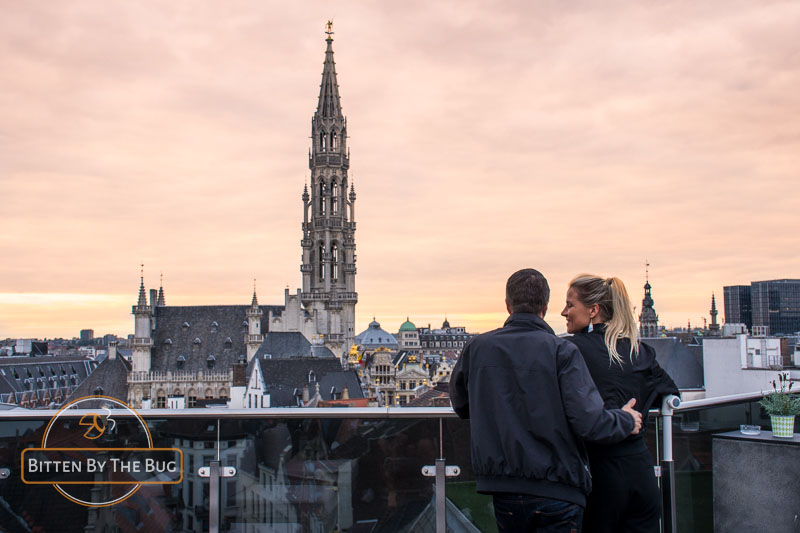 Best sunset spots in brussels - Warwick Rooftop bar