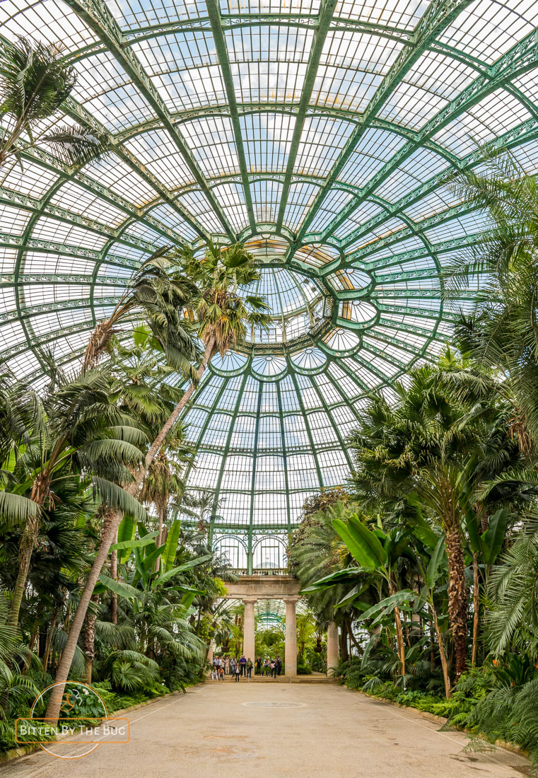 Royal Greenhouses in Laeken
