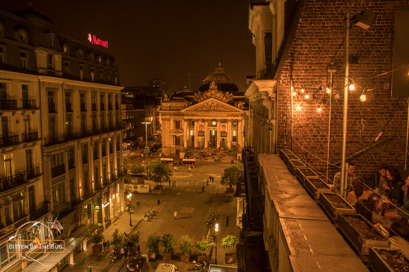 Beurscafé rooftop bar - best rooftop bars in Brussels