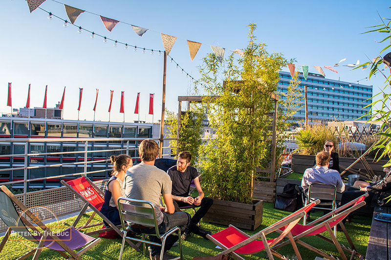 Playlabel rooftop bar - best rooftop bars in Brussels