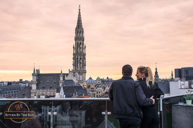 Warwick rooftop bar - best rooftop bars in Brussels