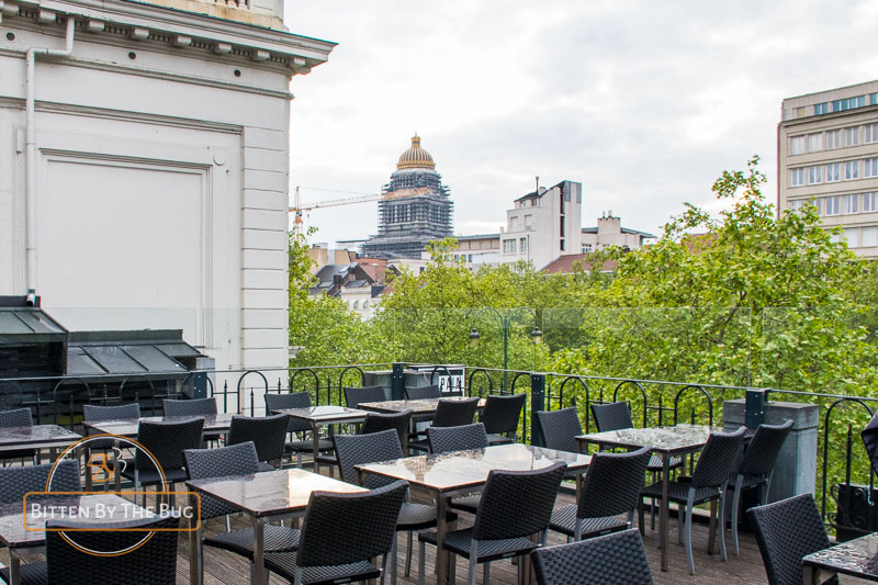 Best rooftop bars in Brussels - Cospaia