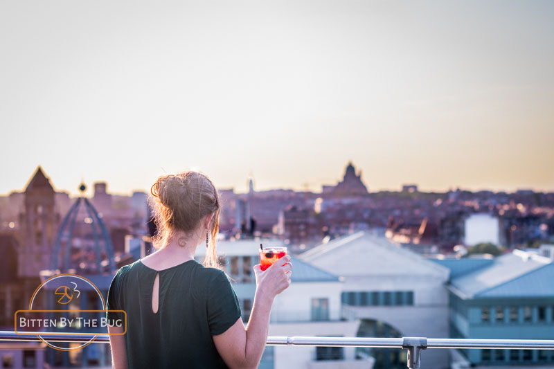Beste rooftopbars in Brussel Boho Rooftop Bar