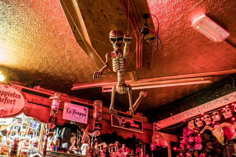 Le Cercueil, quirky bar in Brussels