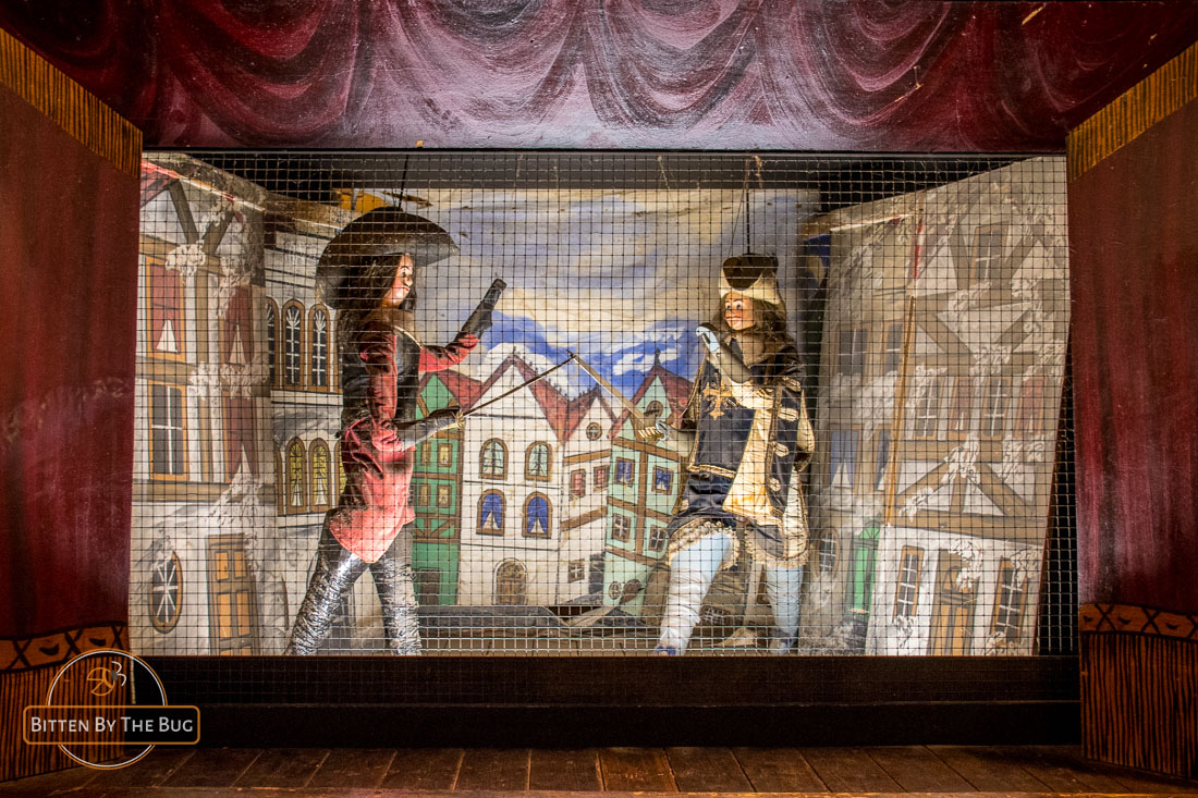 Toone, puppet theater and bar in Brussels