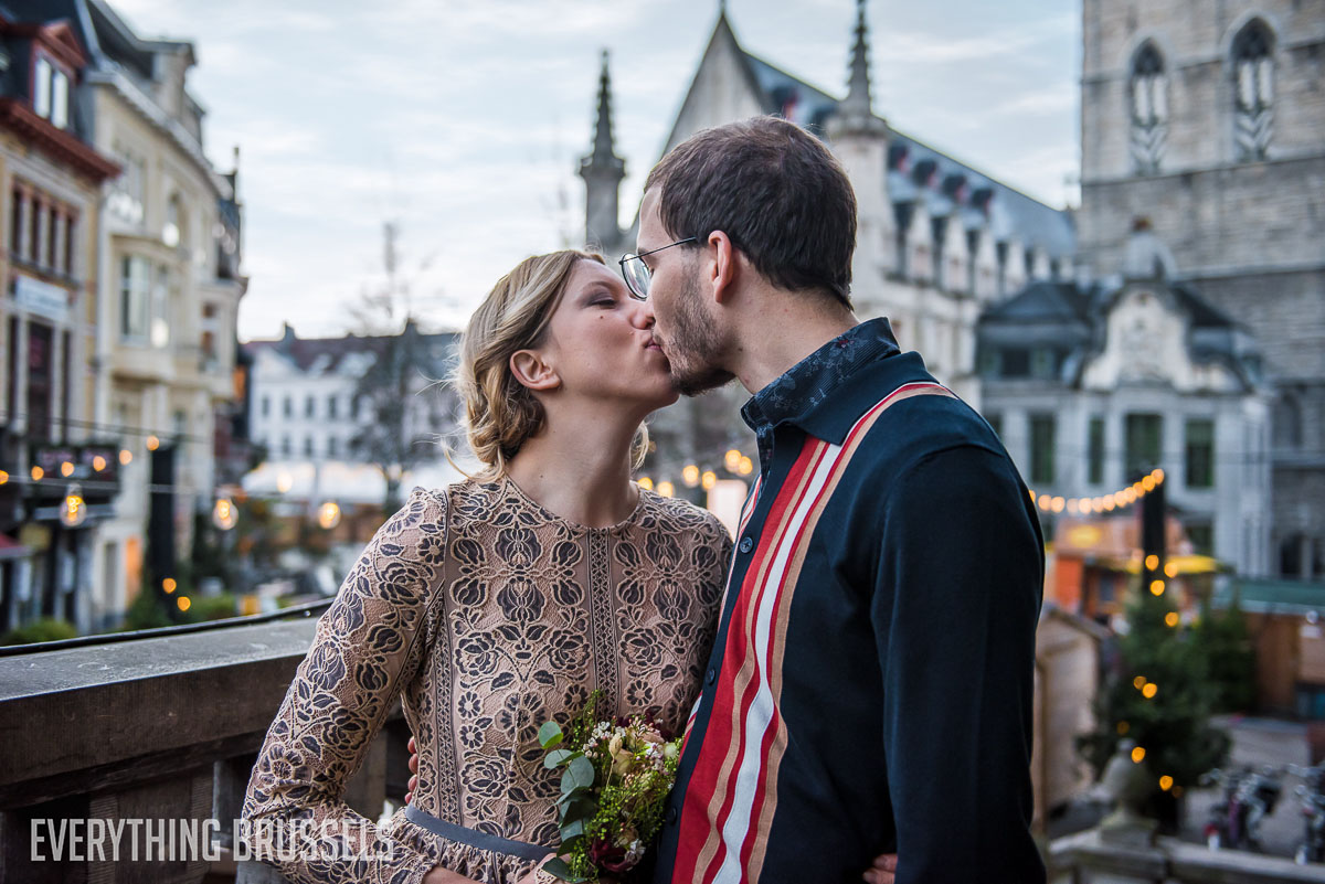 Valentine's Day in Brussels - couple shoot
