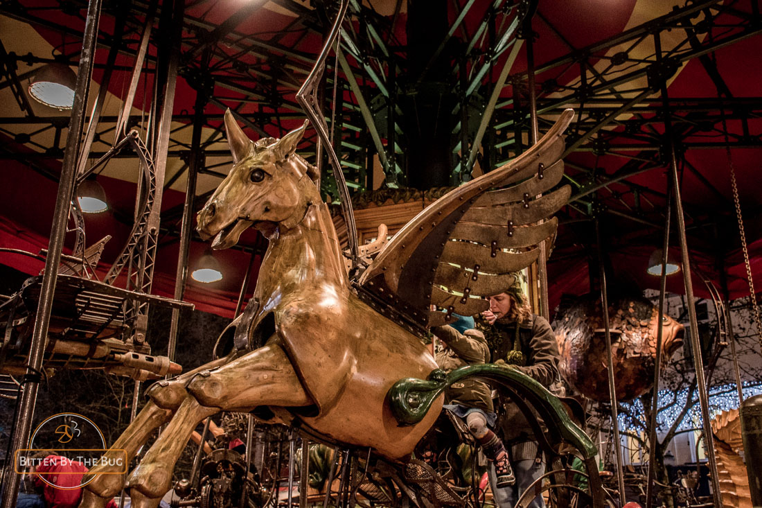 Merry-go-round - Brussels Christmas market