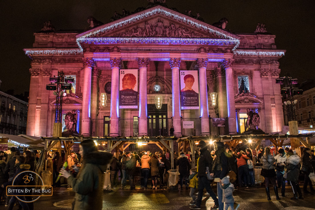 Bourse - Brussels Christmas market
