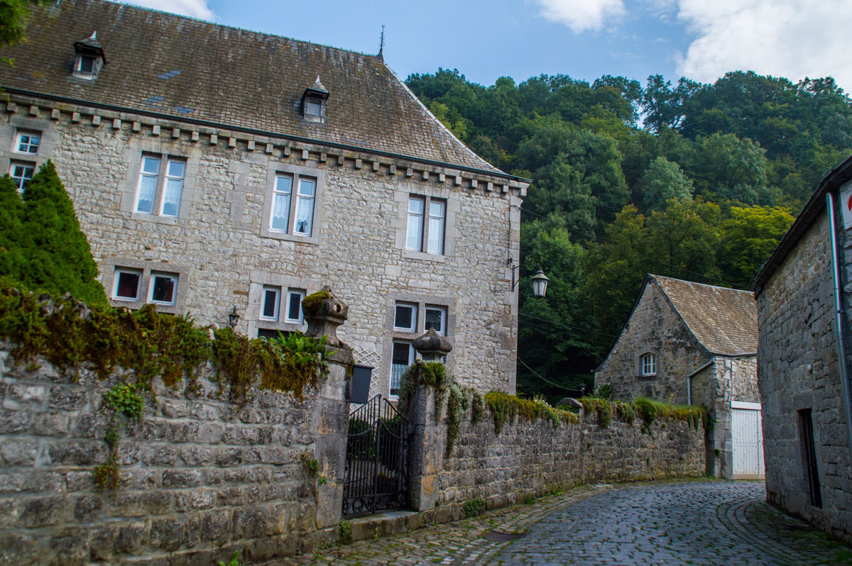 Durbuy in the Belgian Ardennes