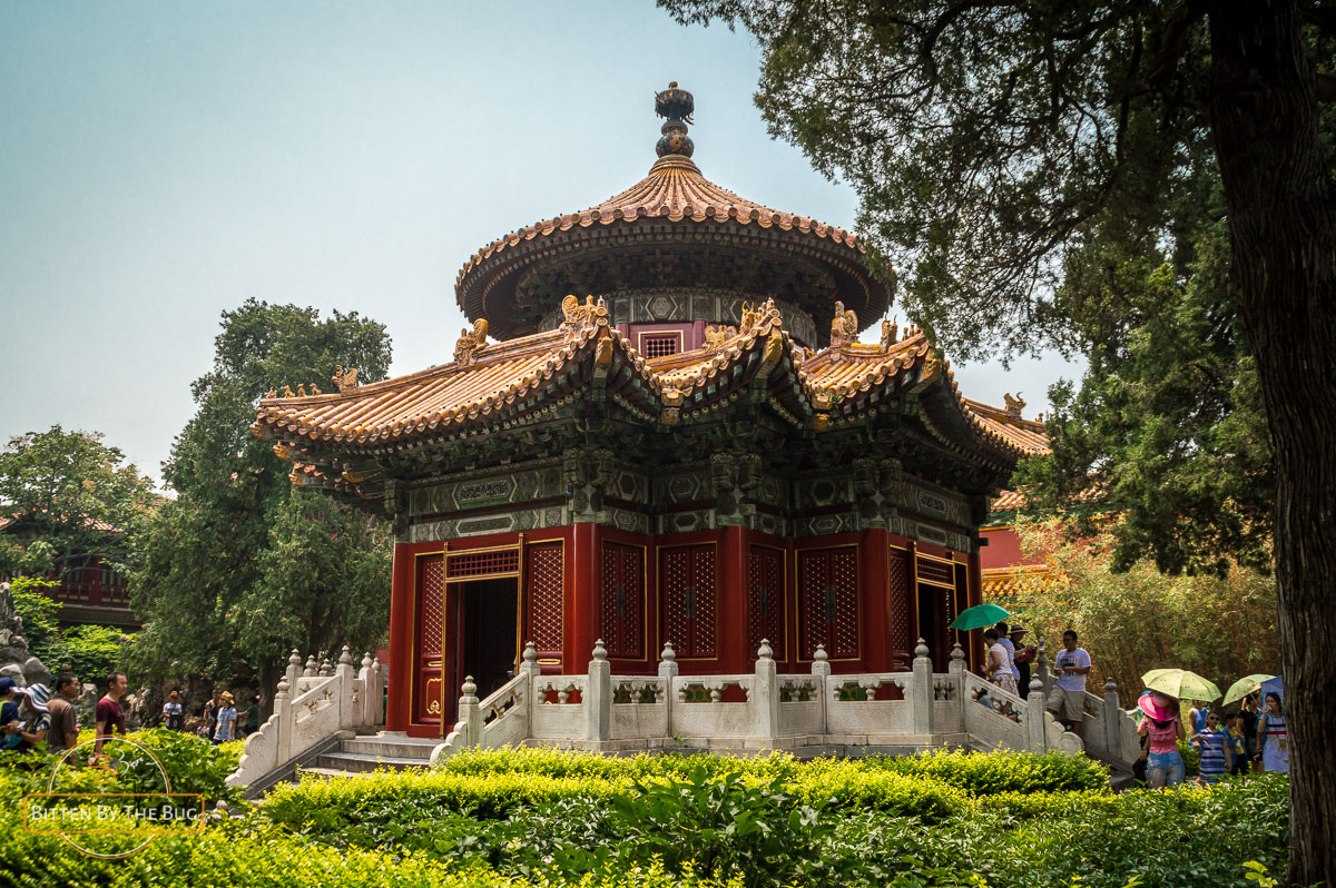 Temple in the Imperial Garden