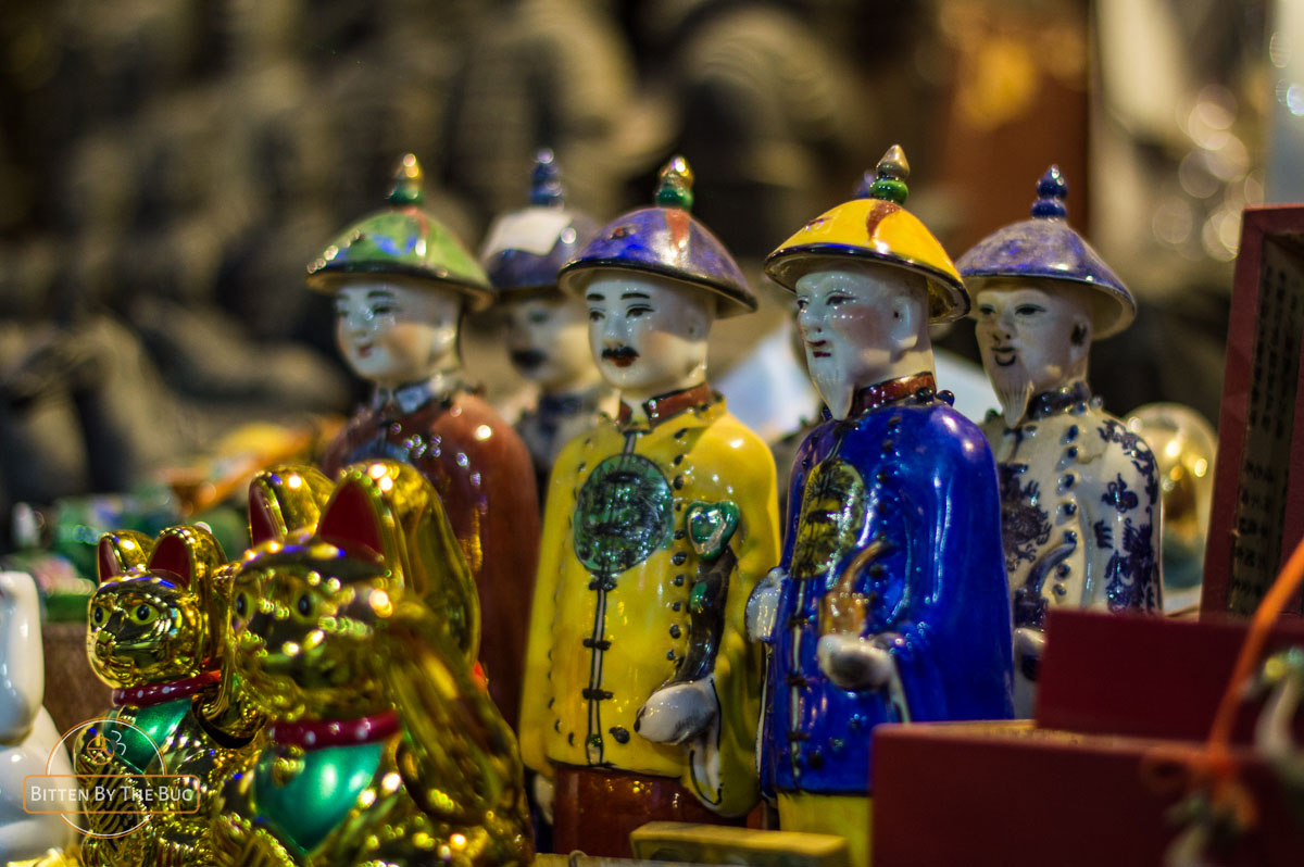 Chinese warrior souvenirs