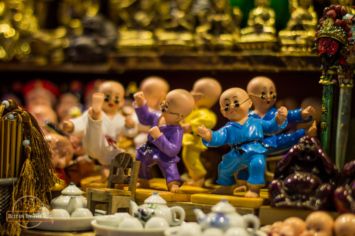 Kungfu fighter souvenirs