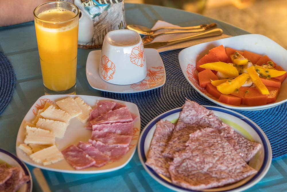 Breakfast at Villa Paradiso, Baracoa
