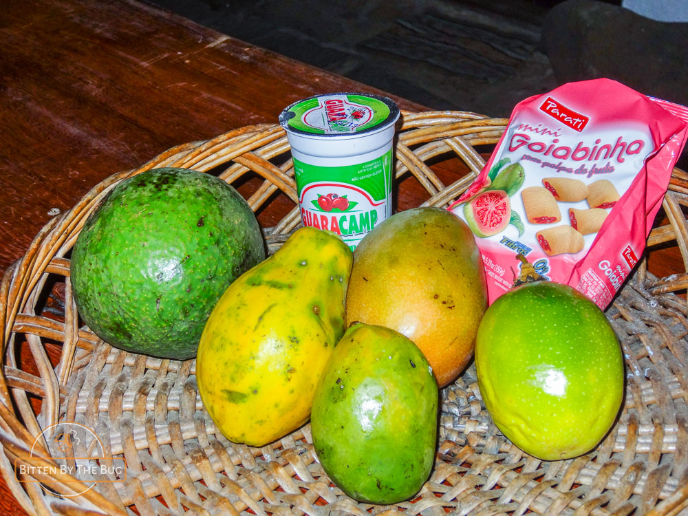 Paraty - Different kinds of fruit
