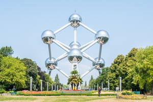 Main sights in Brussels - Atomium