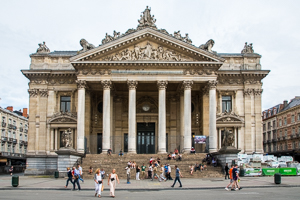 Main sights in Brussels - Bourse