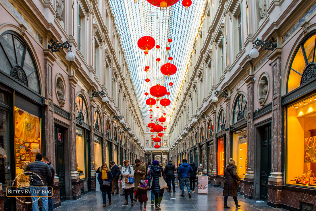 Main sights in Brussels - Galeries Royales