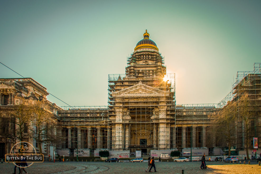 Main sights in Brussels - Palace of Justice