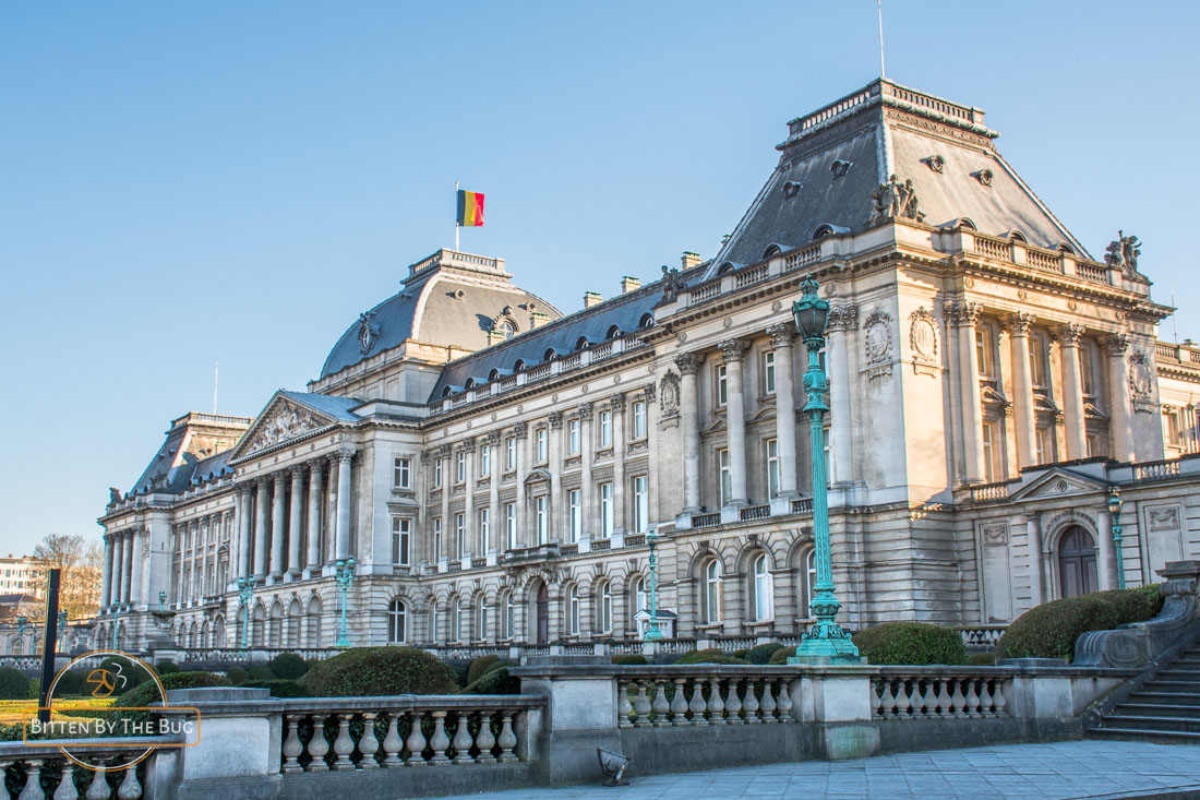 Main sights in Brussels - Royal Palace